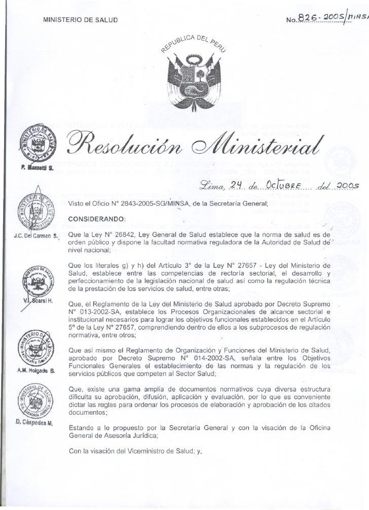 MINISTERIO DE SALUD                                                                    NO.8..~.§.:..~9.f?.~¡1J            ...