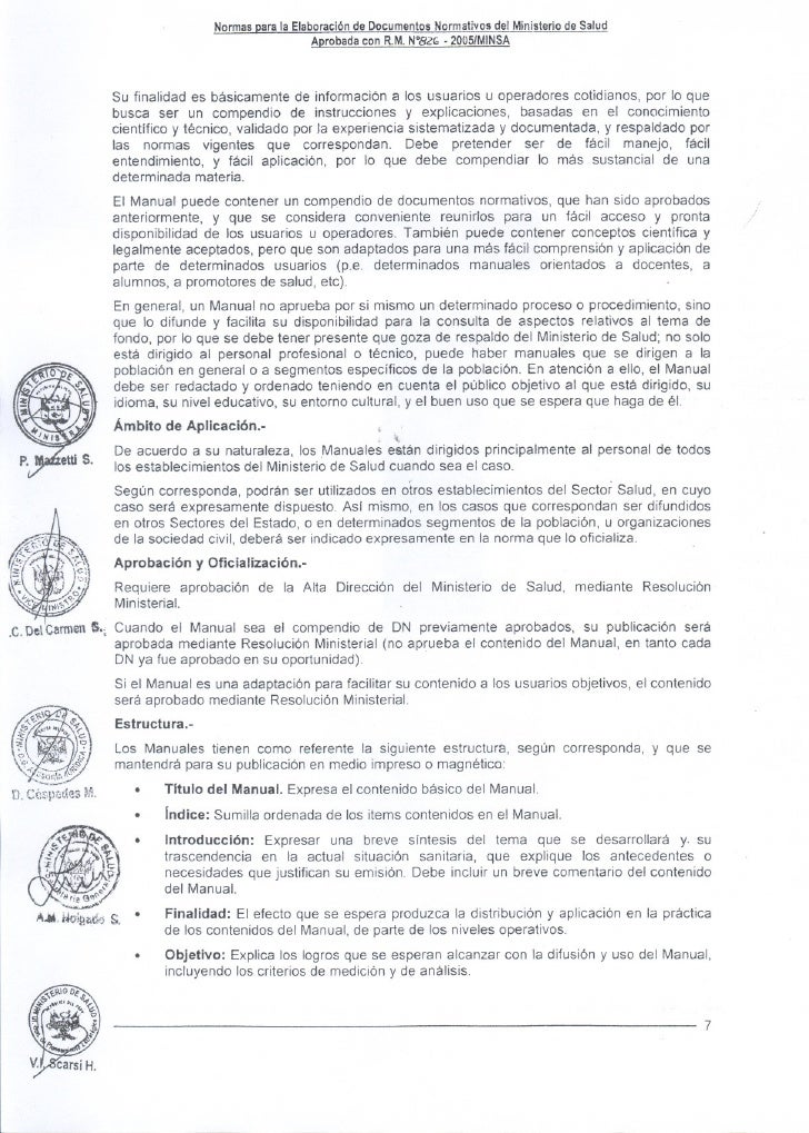 Documentos Normativos II