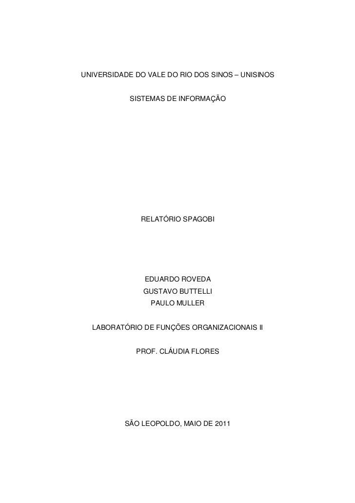 Documento SpagoBI