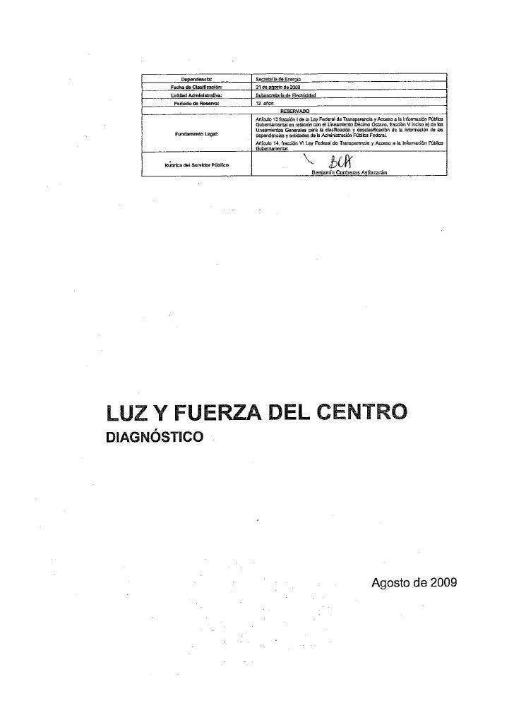 Documentos Secretos DiagnóStico Ly F
