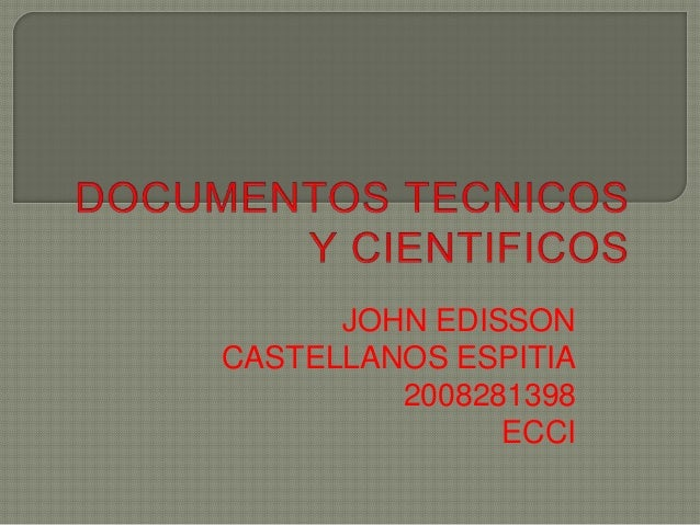 JOHN EDISSON CASTELLANOS ESPITIA 2008281398 ECCI