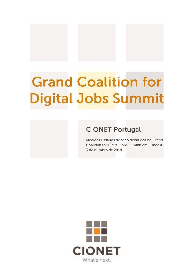 A informação contida neste documento é propriedade intelectual da CIONET Portugal e não poderá ser distribuída ou reproduz...