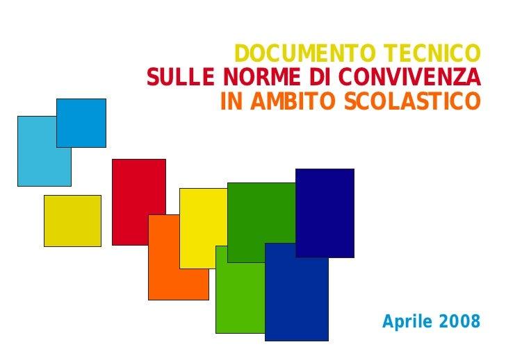 Documento tecnico norme_di_convivenza
