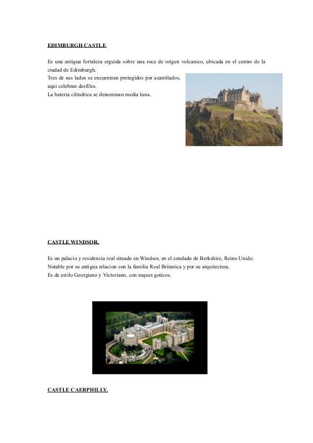 EDIMBURGH CASTLE. Es una antigua fortaleza erguida sobre una roca de origen volcanico, ubicada en el centro de la ciudad d...