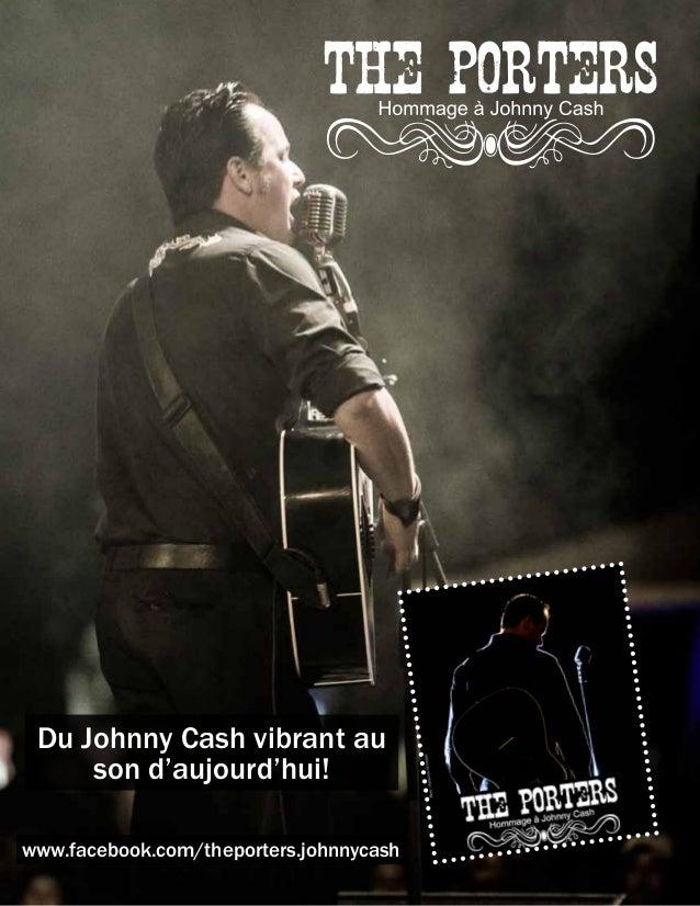 Du Johnny Cash vibrant au     son d'aujourd'hui!www.facebook.com/theporters.johnnycash