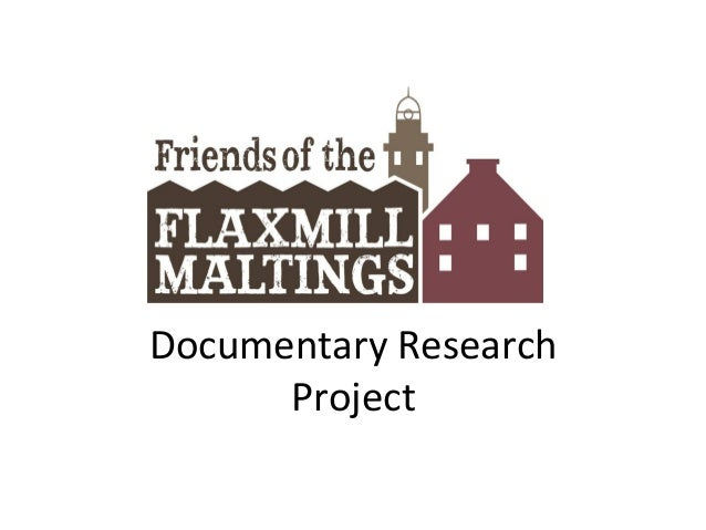 Documentary Research Project
