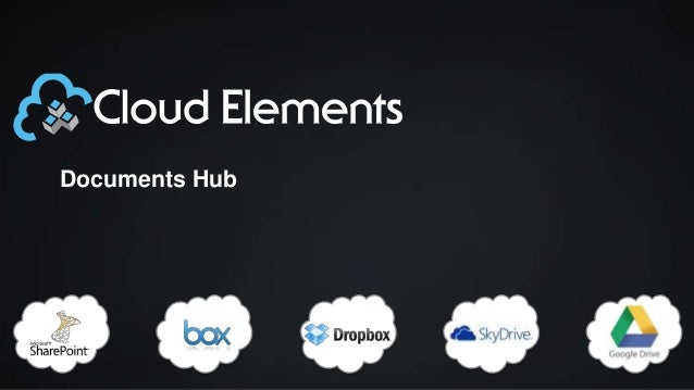 Cloud Elements Documents Hub