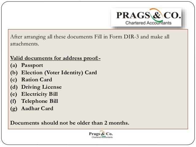 Documents Required for Registration of a Private Limited ...