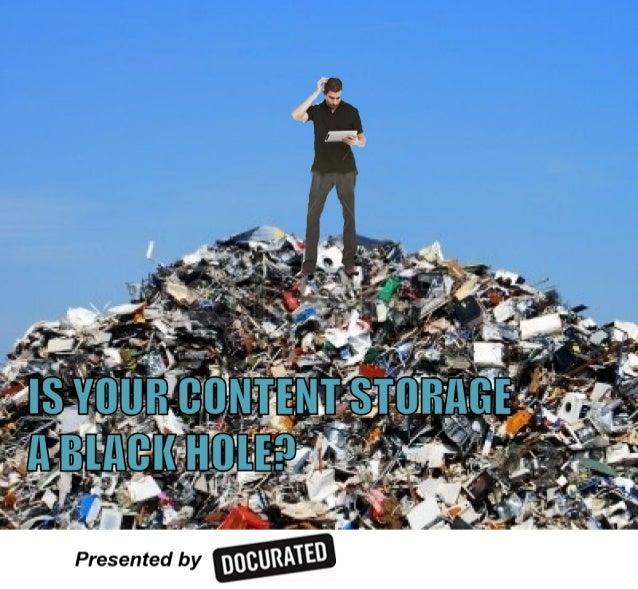 Content Storage Black Hole - Box Sharepoint - Productivity