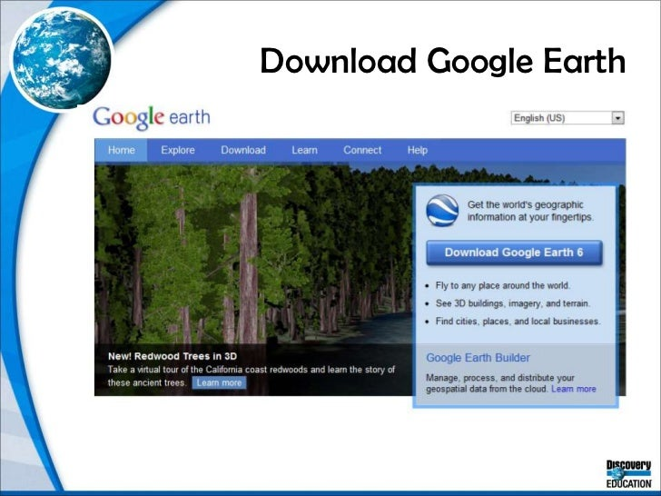 Download Google Earth<br />