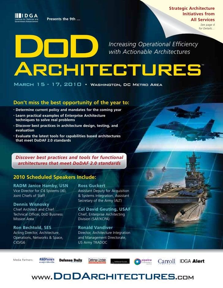 Strategic Architecture                                                                                        Initiatives ...