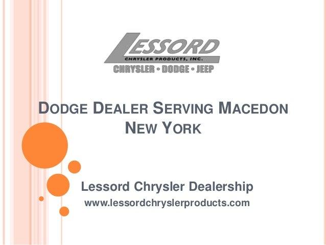 Dodge Dealer Serving Macedon New York
