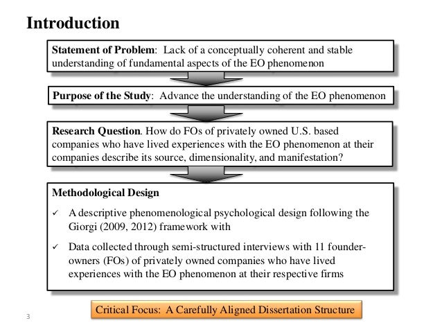 Dissertation defense psychology