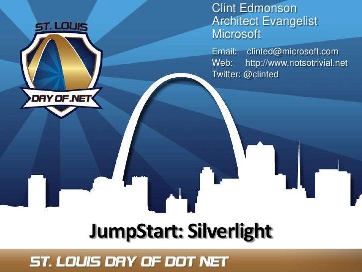 DODN2009 - Jump Start Silverlight