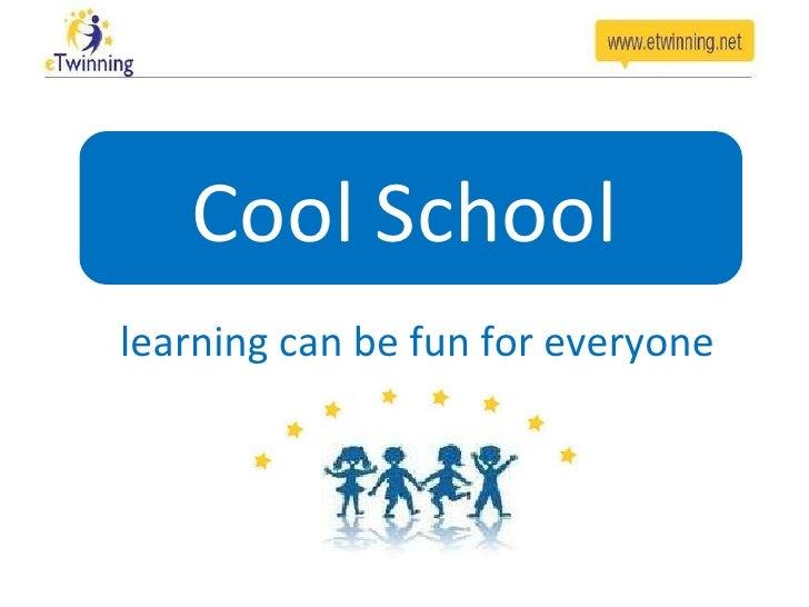 Label Cool school