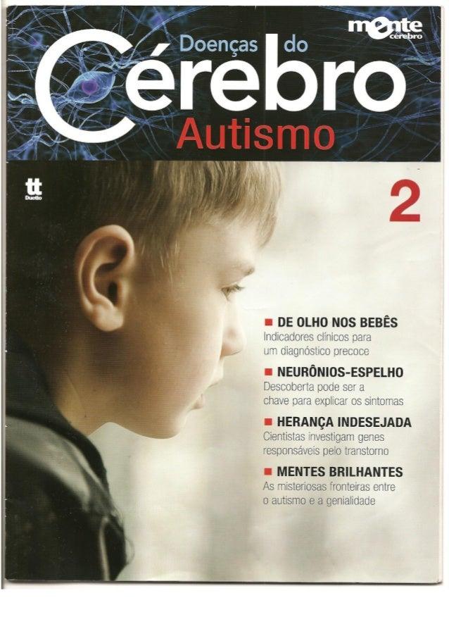 Doenças do cérebro   autismo