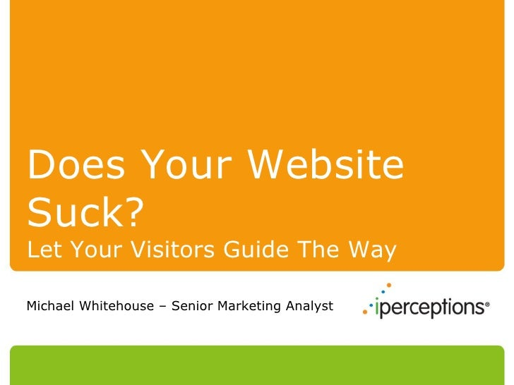 Does Your Website Suck
