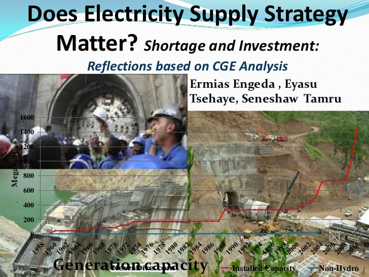 Does electricity strategy matter