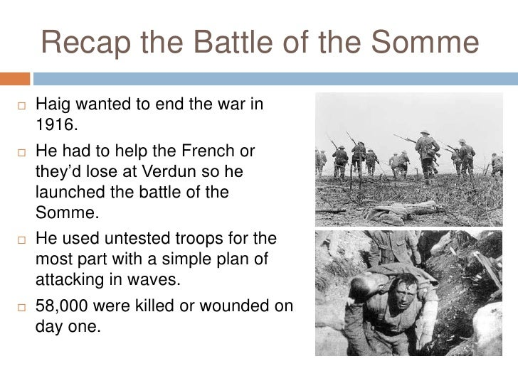 battle of the somme essay