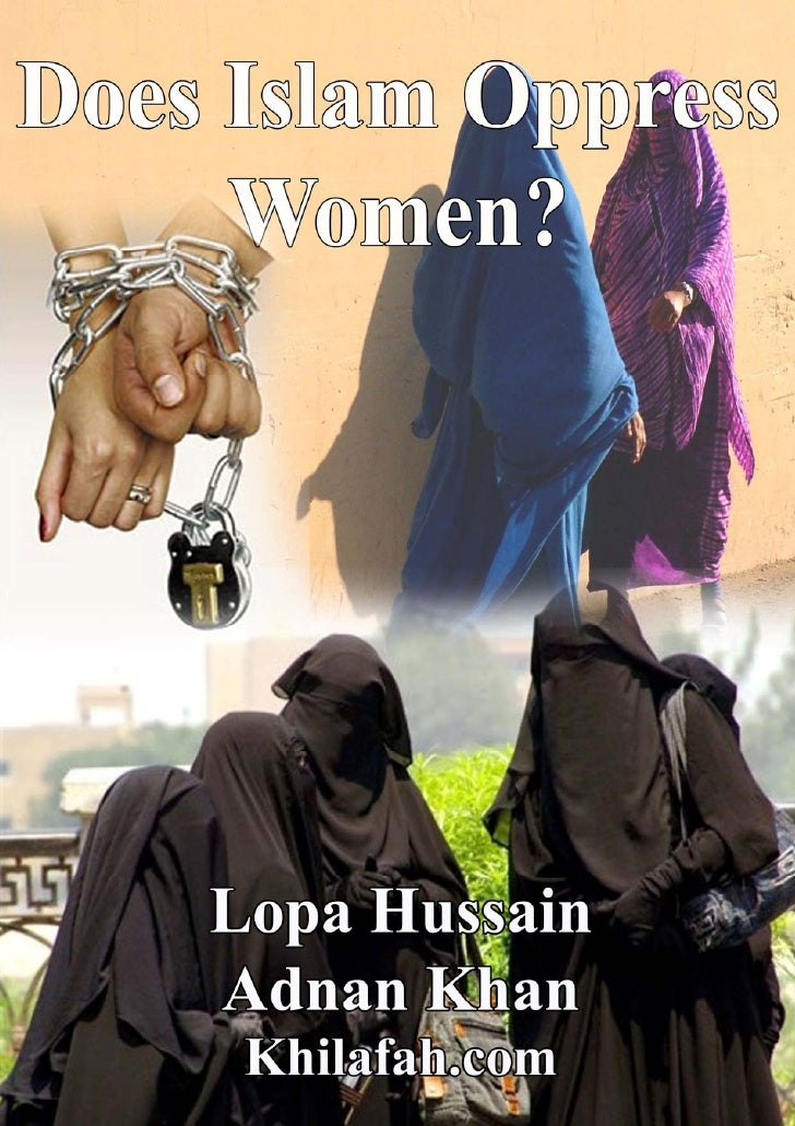 Does islam oppress women