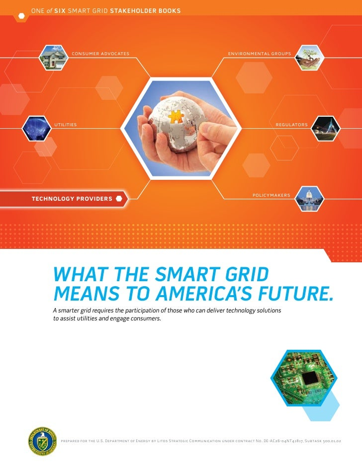 ONE of SIX SMART GRID STAKEHOLDER BOOKS             consumer advocates                                                    ...