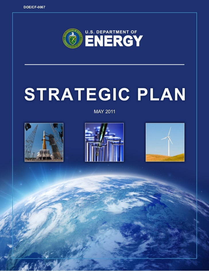 New DOE Strategic Plan May 2011