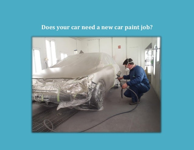 Does your car need a new car paint job?