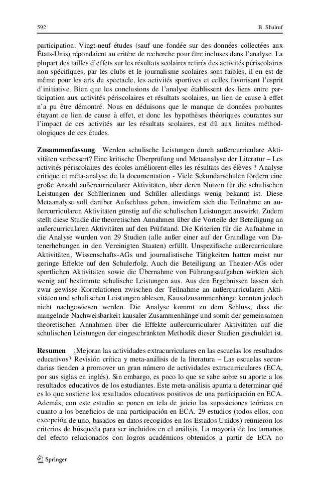 extracurricular activities research paper What makes students in the philippines actively participate in extra-curricular activities - nathan john gatchalian - research paper (undergraduate) - english language and literature studies - other - publish your bachelor's or master's thesis, dissertation, term paper or essay.