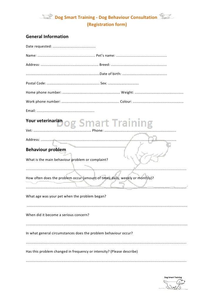 Dog Adoption Screening Questions