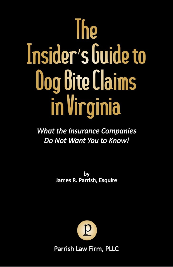 The Virginia Dog Bite Book