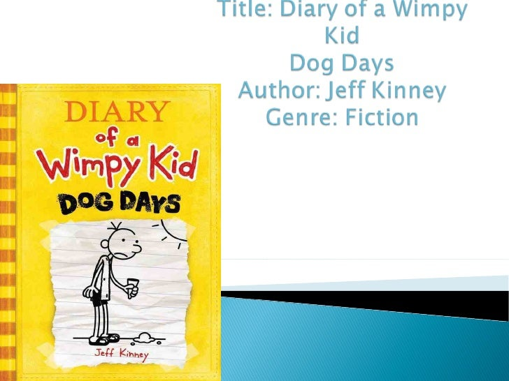 Diary Of A Wimpy Kid Dog Days Short Book Summary
