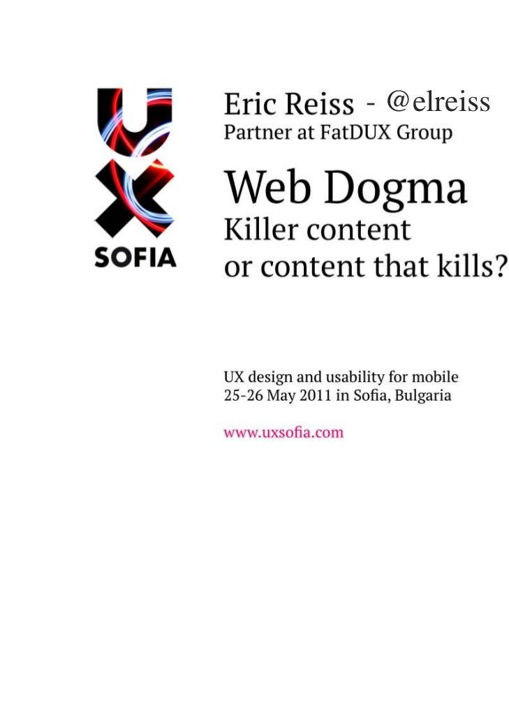 Web Dogma (Bulgarian)