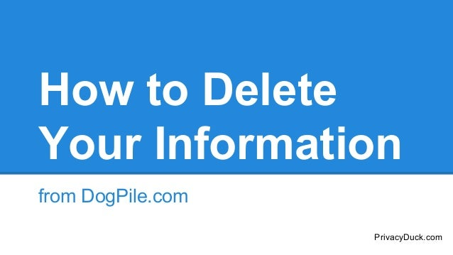 how to delete personal information from google search