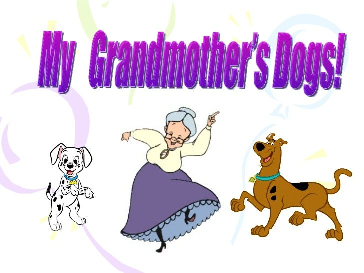 • My Grandmother has 2 dogs. They're  called Pikuś and Bruno. They are  mongrels. They have their kennels  but if it's col...