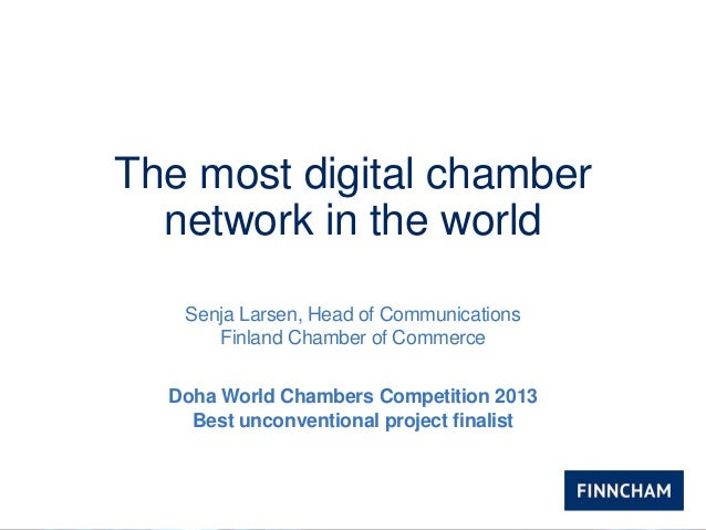Most Digital Chamber Network in the World