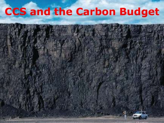 CCS and the Carbon Budget