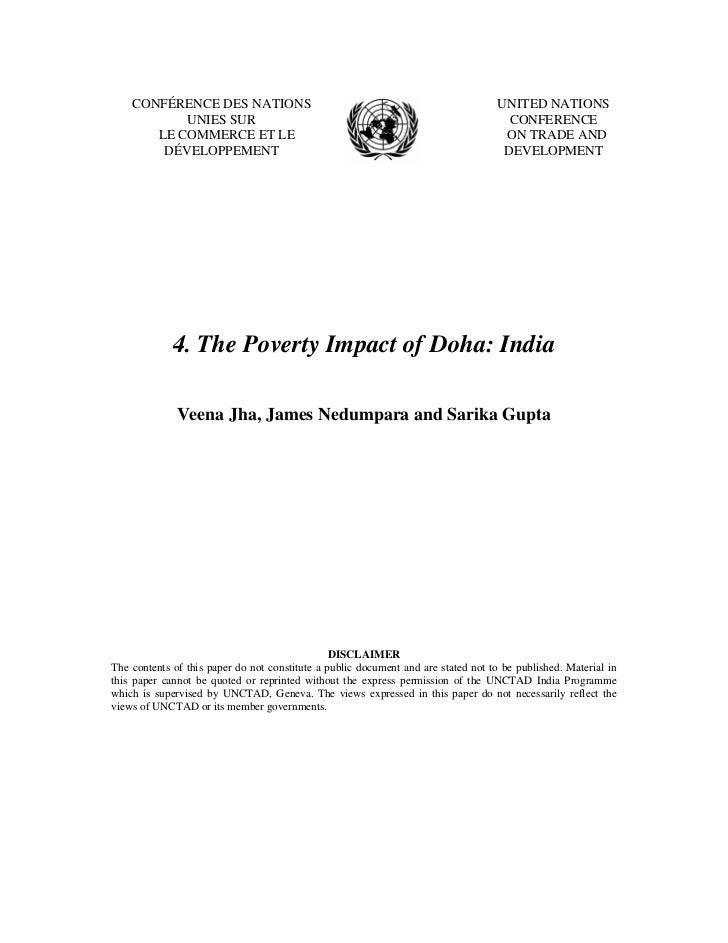 Doha devlopment agenda