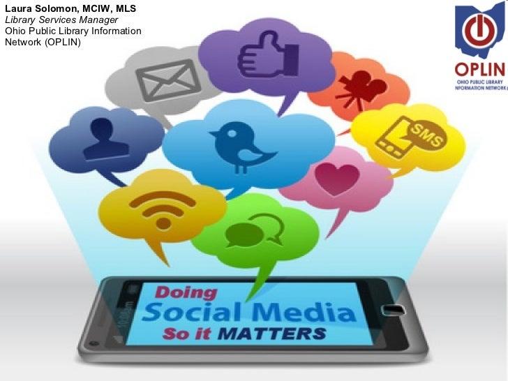 Doing Social Media So It Matters, 2011