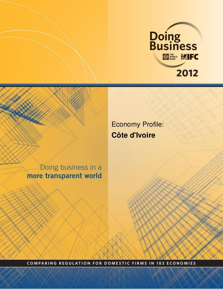 Economy Profile:Côte dIvoire