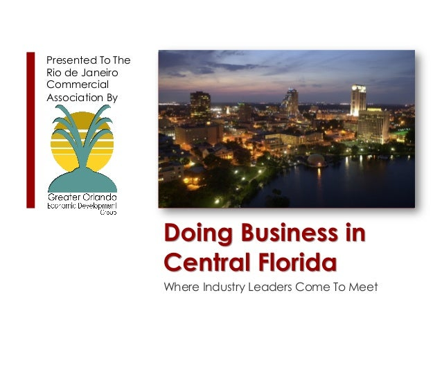 Doing Business in Central Florida