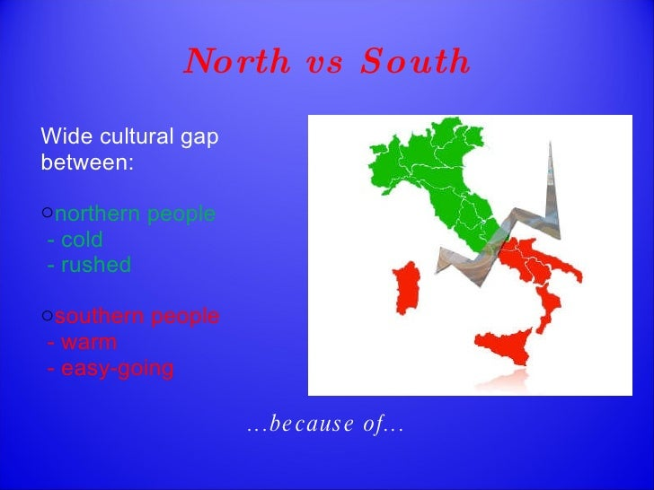 what is the north south divide how