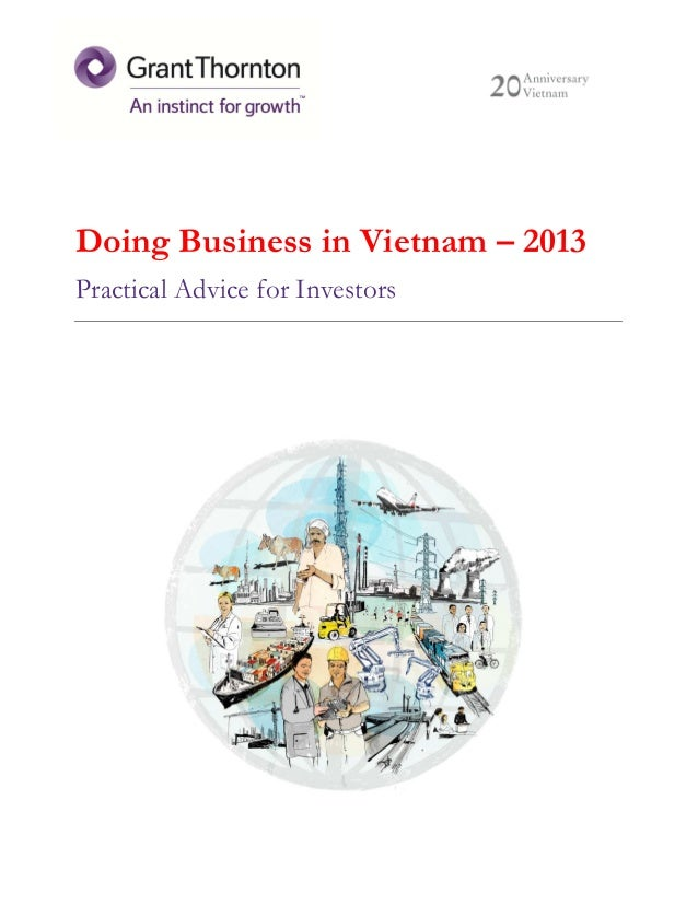 Doing Business in Vietnam – 2013 Practical Advice for Investors