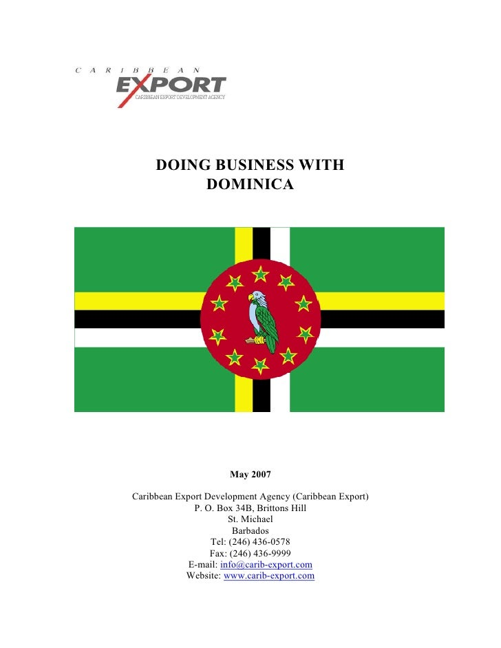 Doing Business with Dominica