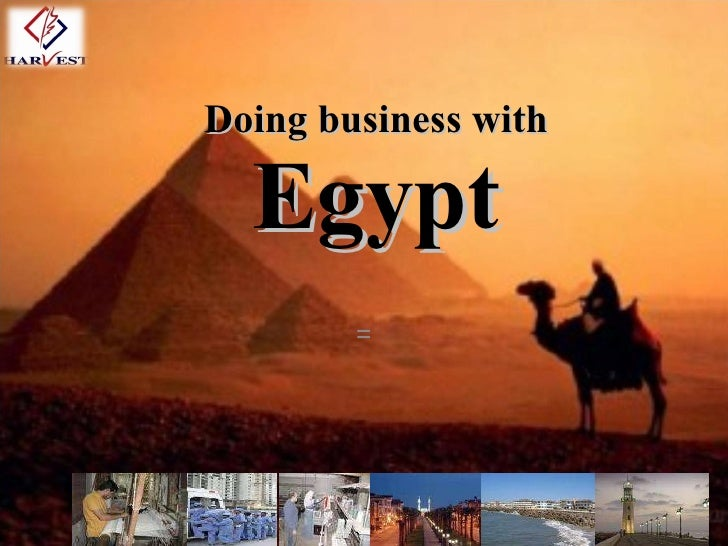 Doing business with Egypt =
