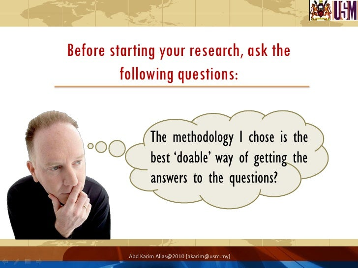 Literature review in research