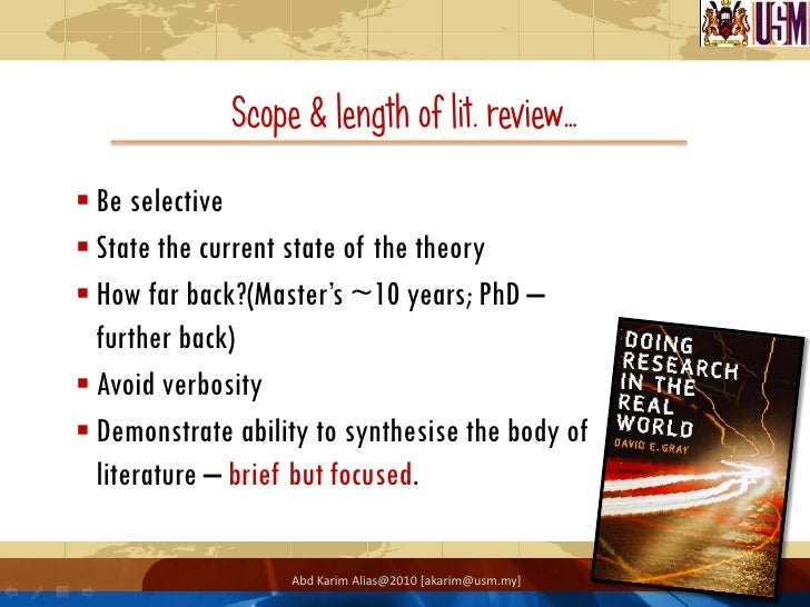 How to write a methodology after writing a literature Review ( lit Review)?