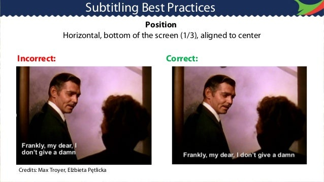 Where do I position subtitles in my research paper?