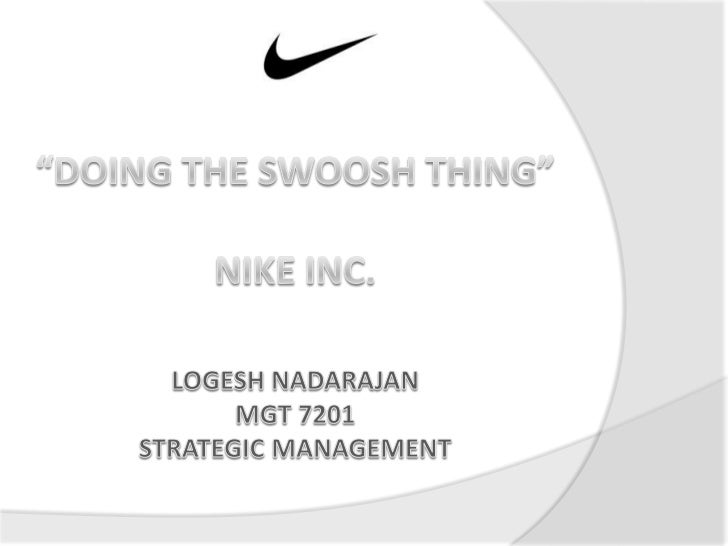 strategic analysis of nike inc