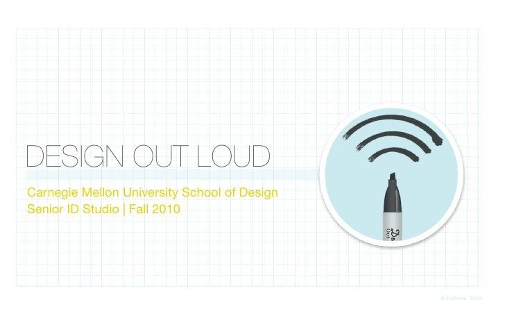 Design Out Loud Course Introduction