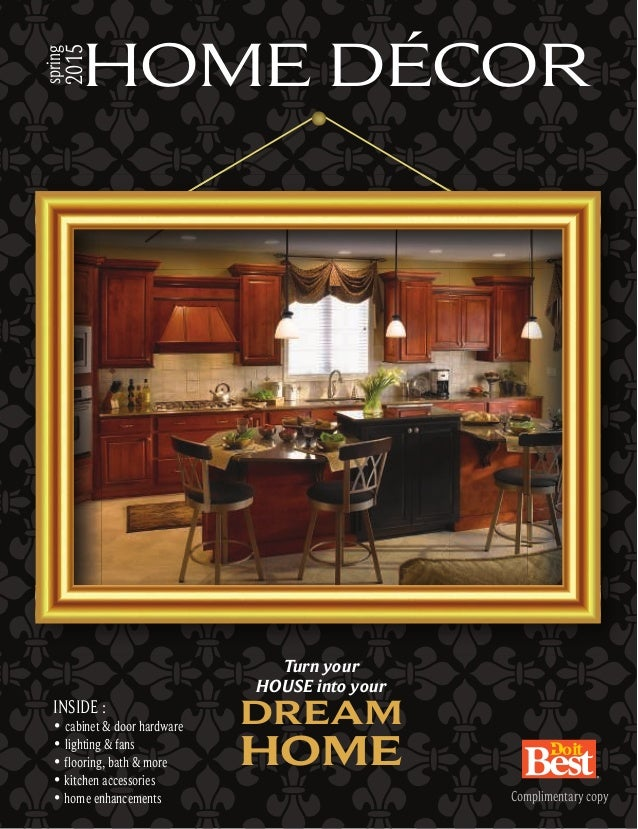 Do it best home decor catalog Design house catalog